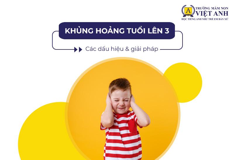 Khủng hoảng tuổi lên 3 là một giai đoạn phát triển tâm lý ở trẻ khi bắt đầu học mầm non