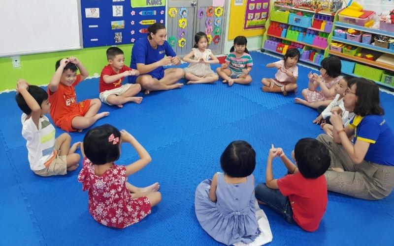 Trường mầm non dân lập tại Gò Vấp có học phí tốt nhất