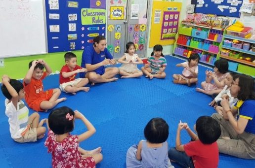Chương trình kỹ năng sống tại Trường Mầm Non Việt Anh TPHCM